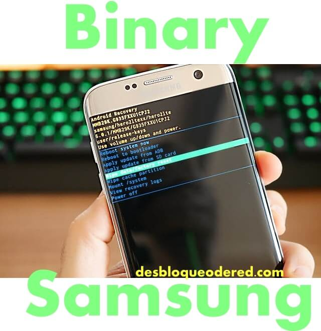 how to know binary samsung