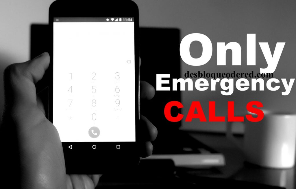 only emergency callss