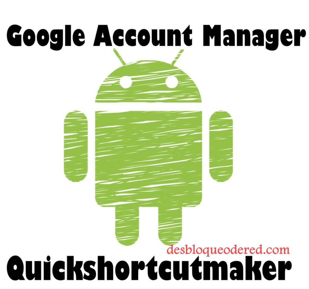 quitar cuenta con quickshortcutmaker
