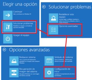 Desactivar controladores no firmados  en windows 10 y windows 8